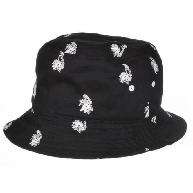 91d74dab68a569 Palace Skateboards Palace Parrot Bucket Hat - Black - Bucket Hats ...