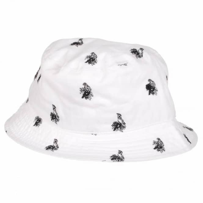 0edc5acc97968a Palace Skateboards Palace Parrot Bucket Hat - White - Bucket Hats ...