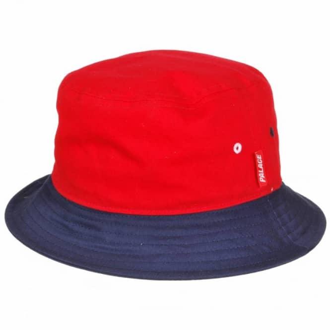 39ef8cbe243 Palace Skateboards Palace Reversible Bucket Hat - Red White Blue ...