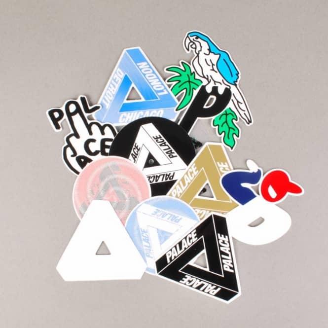 e049bbee11bc Palace Skateboards Palace Sticker Pack - Skateboard Stickers from ...