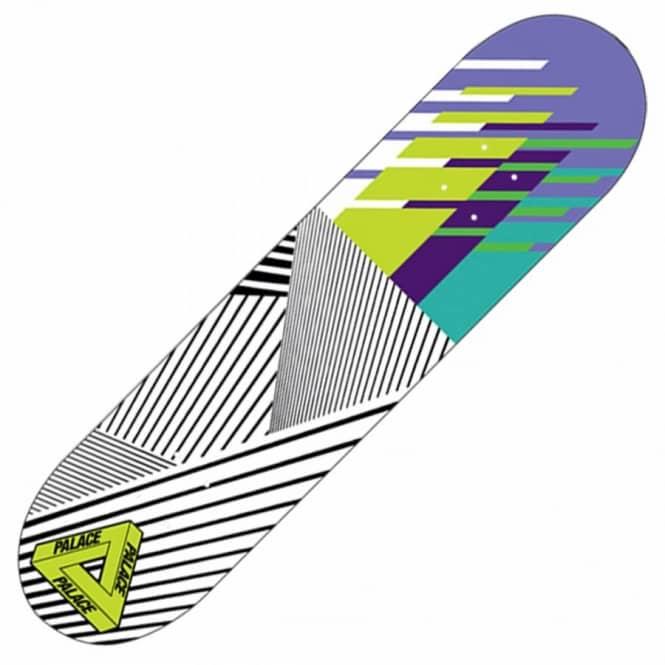 755f065df1e8 Palace Skateboards Palace Skateboards Palace Stunt Team Yellow Skateboard  Deck 7.75
