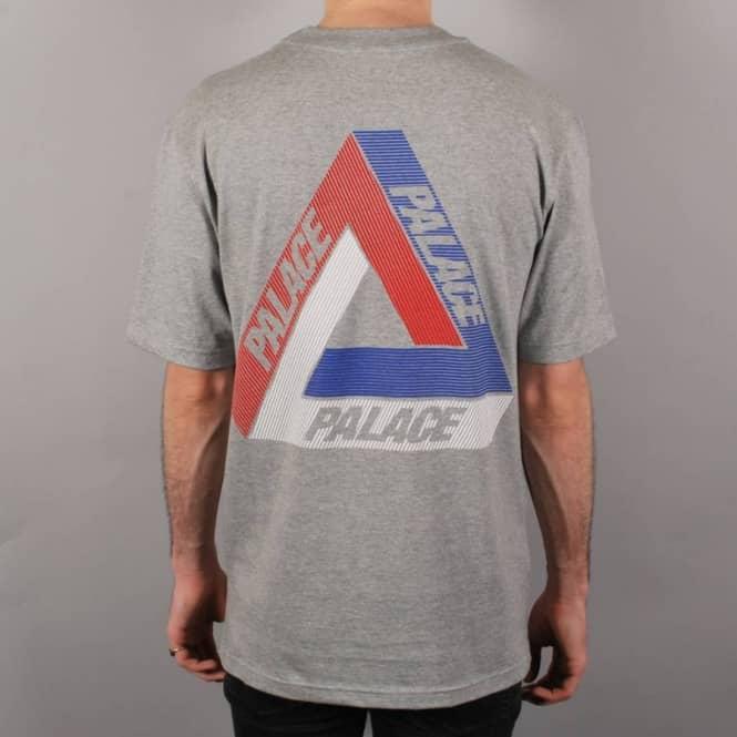 c3589683 Palace Skateboards Palace Tri-Line Brit Skate T-Shirt - Grey - Skate ...