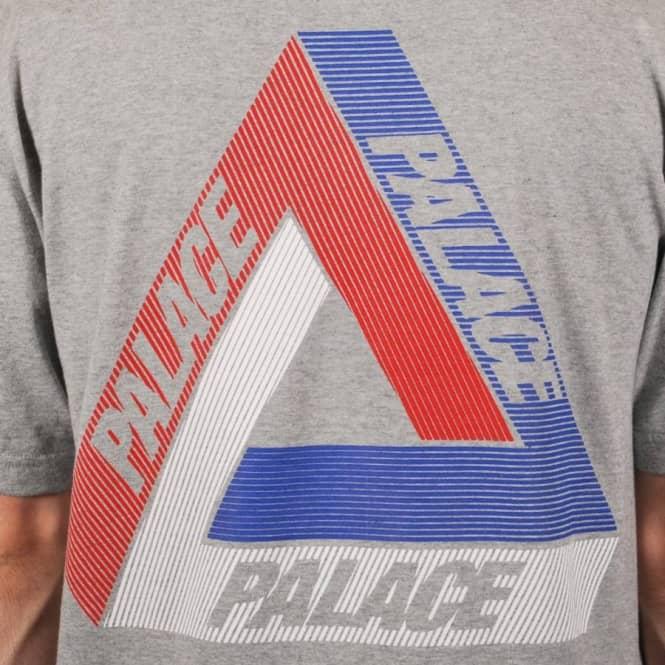 3455fd82468d Palace Skateboards Palace Tri-Line Brit Skate T-Shirt - Grey - Skate ...
