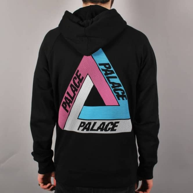 9c0ce1f3044f Palace Skateboards Palace Tri-Line Pullover Hoodie - Black Multi ...