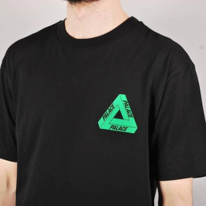 fd45288e Palace Skateboards Palace Tri-Line Rasta Skate T-Shirt - Black ...