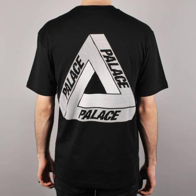 25955499 Palace Skateboards Palace Tri-Line Skate T-Shirt - Black - Skate T ...
