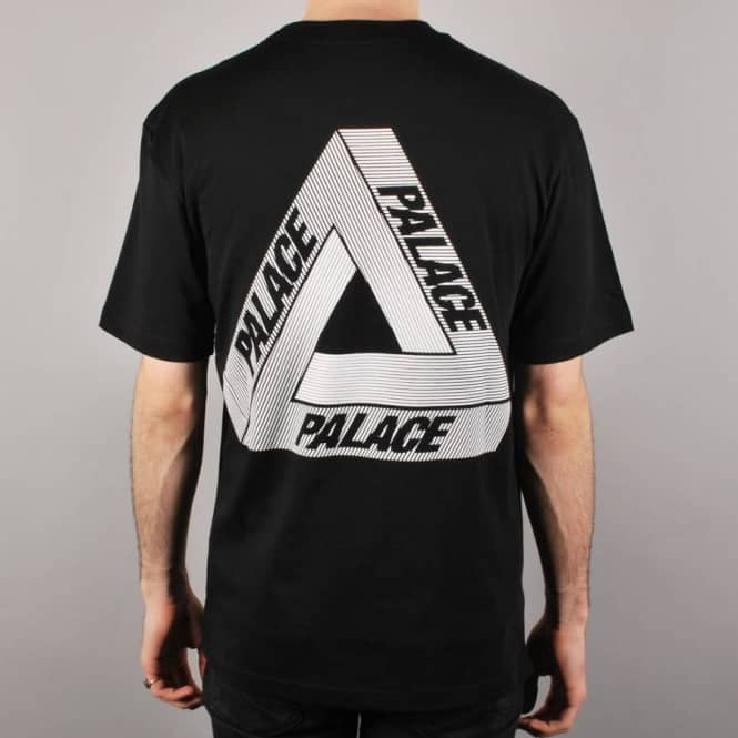d91f5aa119c5 Palace Skateboards Palace Tri-Line Skate T-Shirt - Black - Skate T ...