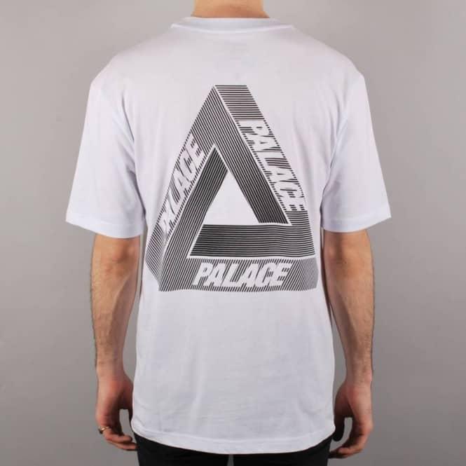 72f289e58c8f Palace Skateboards Palace Tri-Line Skate T-Shirt - White - Skate T ...
