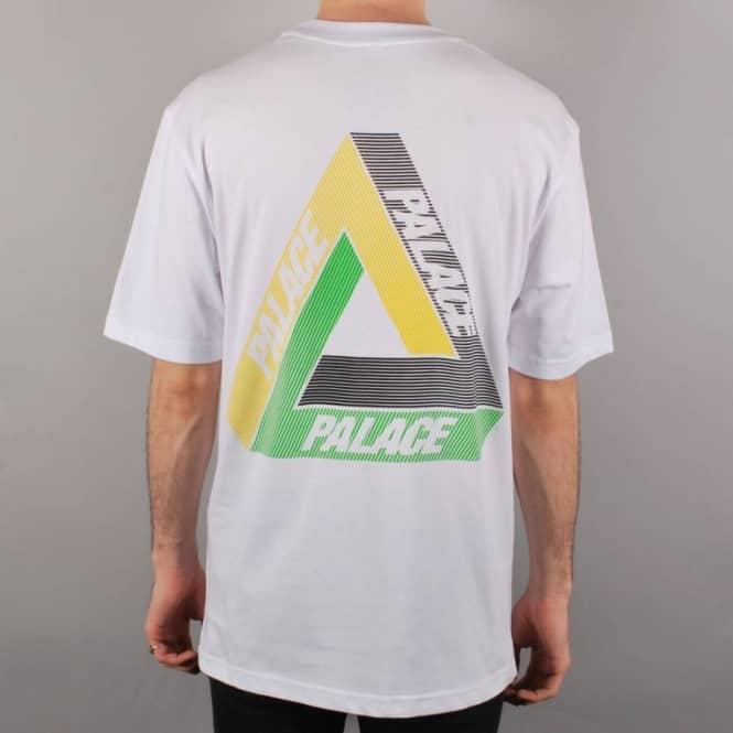 41c93e9d Palace Skateboards Palace Tri-Line Yard Skate T-Shirt - White ...