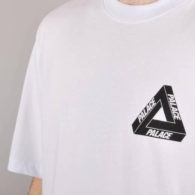 Palace Skateboards Palace Tri-Line Yard Skate T-Shirt - White ... 65c5da979a54
