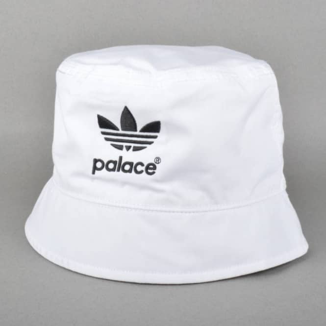 392cd2b3 Palace Skateboards Palace x Adidas Original Bucket Hat - White ...