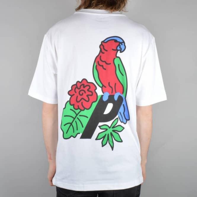 Palace skateboards parrot skate t shirt white skate t for T shirts online uk