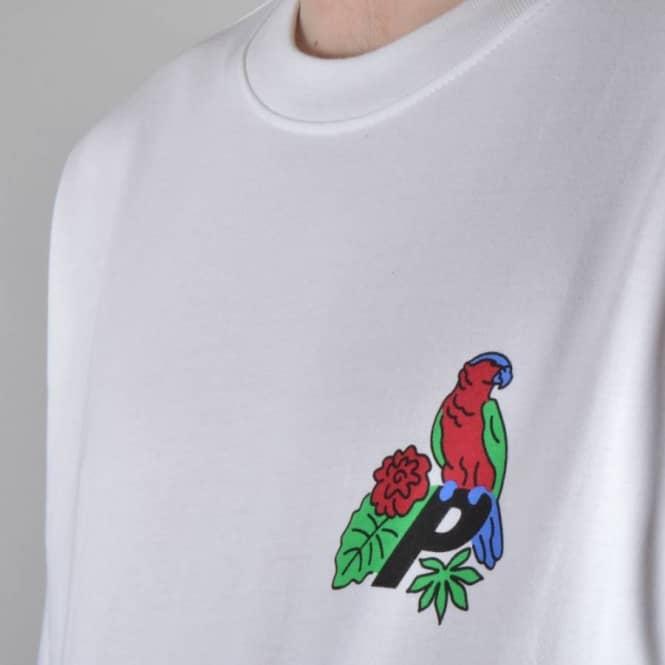 585296ed Palace Skateboards Parrot Skate T-Shirt - White - Skate T-Shirts ...