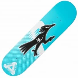 Palace Skateboards Roadruner Blue Skateboard Deck 8.1""