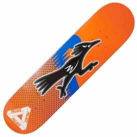 Palace Skateboards Roadruner Orange Skateboard Deck 7.75""