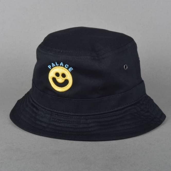 ddeadb05525 Palace Skateboards Smiler Reversible Bucket Hat - Black - Bucket ...
