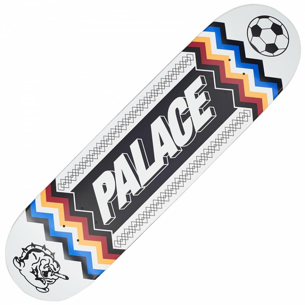 3cf1270a2891 Palace Skateboards Team Scarf White Skateboard Deck 8.3 ...