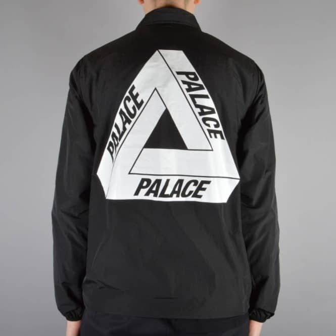 8cd7846dbfe7 Palace Skateboards Tech Coach Jacket - Black - SKATE CLOTHING from ...
