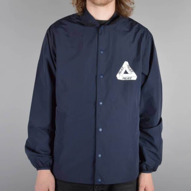 c045dcc814bc Palace Skateboards Tech Coach Jacket - Navy - SKATE CLOTHING from ...