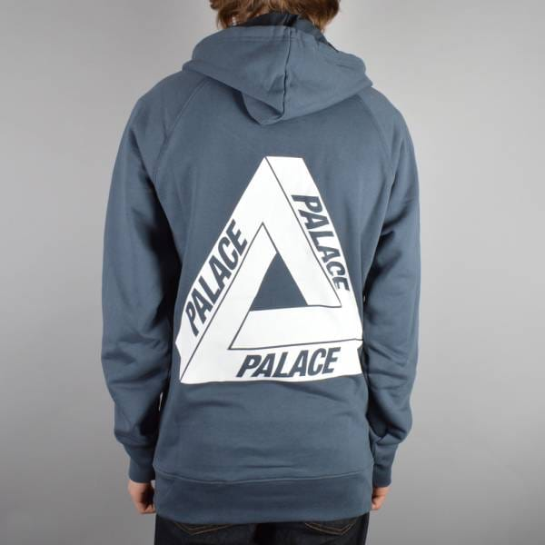 Palace Skateboards Tri-Ferg Hood 1 Pullover Hoodie - Coral - Hooded Tops From Native Skate Store UK