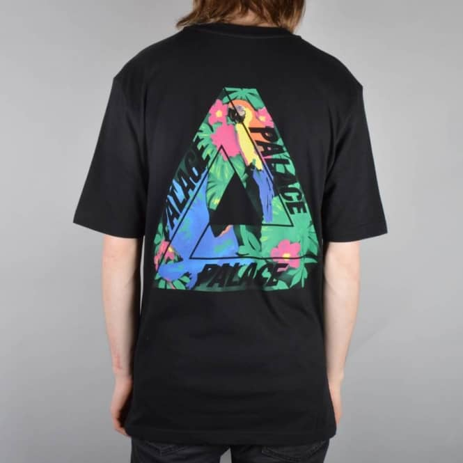 02324a8e968f Palace Skateboards Tri-Wild Skate T-Shirt - Black - Skate T-Shirts ...