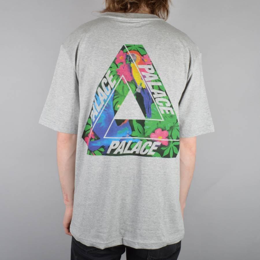 Palace Skateboards Tri Wild Skate T Shirt Grey Palace