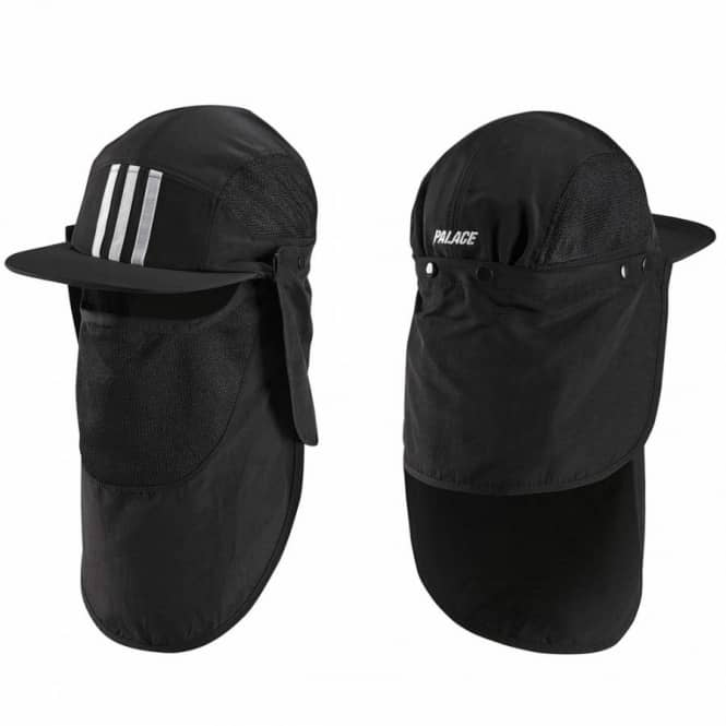 Palace Skateboards x Adidas Originals 5 Panel Cap - Black - SKATE ... 80be52af31f