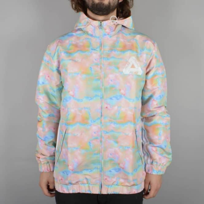 a0a82b5aa23f x Adidas Originals Hooded Bomber Jacket - Multi Colour/White
