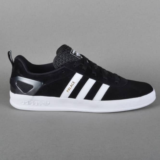 b50e919afcc4 x Adidas Originals Indoor Gazelle Pro Skate Shoes - Core Black Ftwr White  Gold