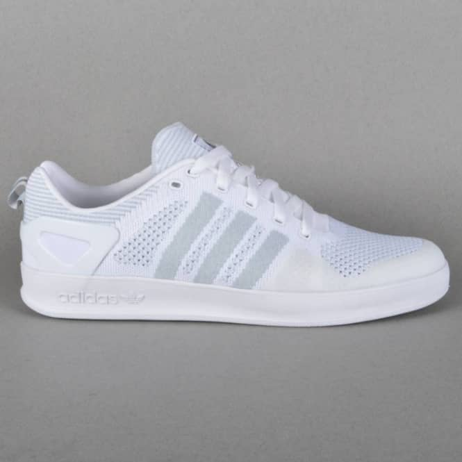 reputable site c4841 c2f5b x Adidas Originals Indoor Prime Knit Skate Shoes - Ftwr White Core  Black Ftwr