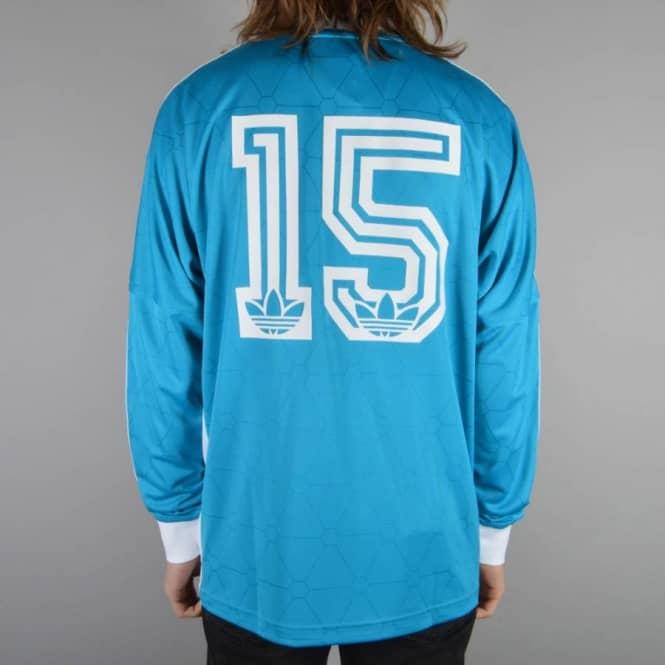 x Adidas Originals LSL Team Shirt Bold Aqua