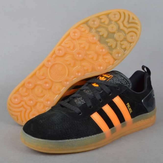 new product 4e886 a70f5 x Adidas Originals Palace Pro Shoes - Pro BlackOrange