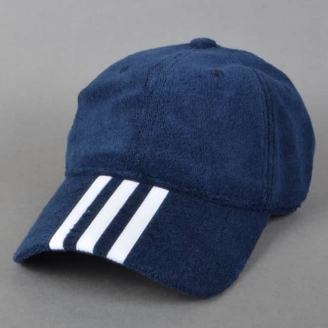 Palace Skateboards x Adidas Originals Palace Towel Hat - Navy ... aa43b0a3f9a