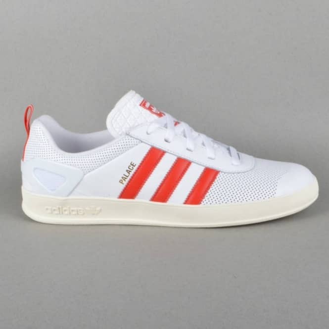 9c7b0773 Palace Skateboards x Adidas Originals Palace Pro Shoes - FTWWHT/RED ...