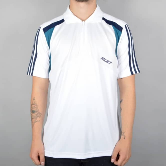 52e462114f66 Palace Skateboards x Adidas Originals SSL Polo Shirt - White Night ...