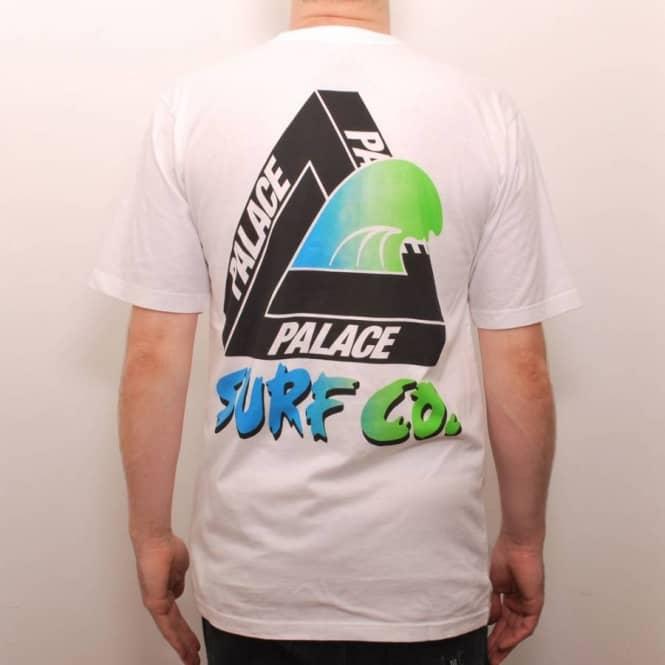 aa8076d64b3f Palace Skateboards Palace Surf Co Skate T-Shirt White - Skate T ...