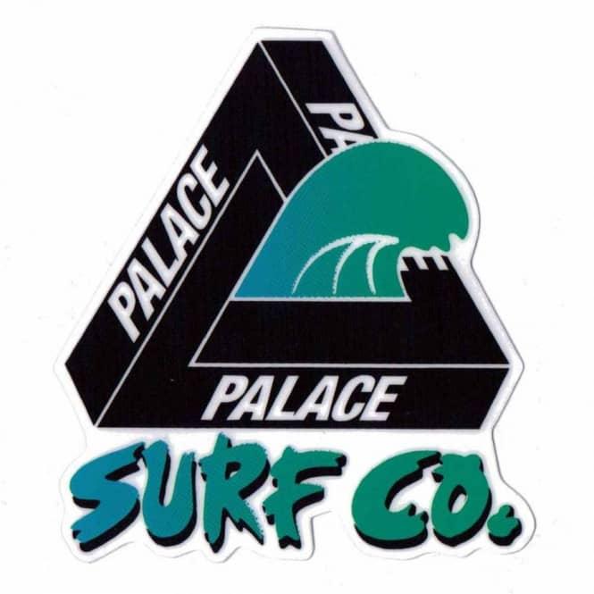 e714007f2a34 Palace Skateboards Palace Skateboards Palace Surf Co. Skateboard Sticker