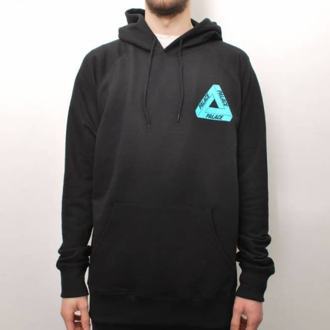 fe4aad61dd3d Palace Skateboards Palace Tri-Ferg Iced Out Skate Hoodie - Black ...