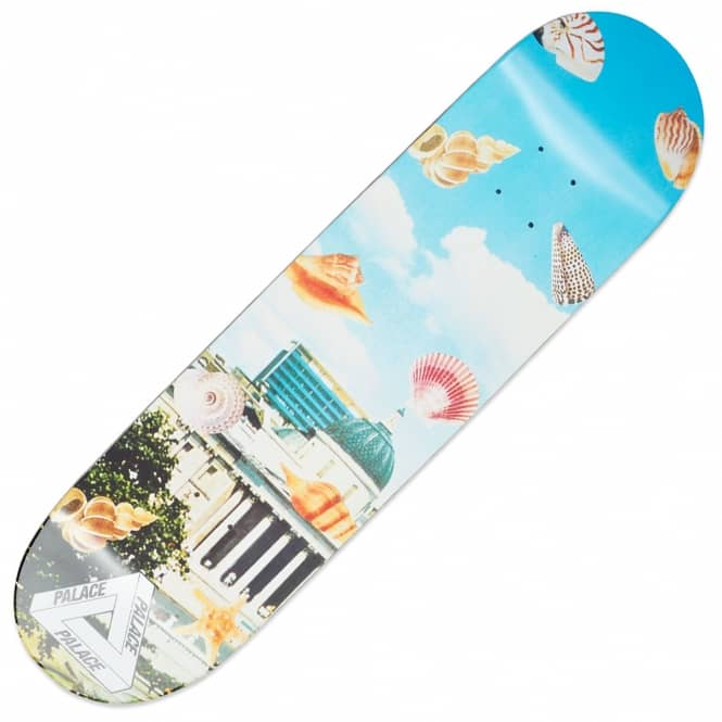 Palace Skateboards Payne Seas Shells Skateboard Deck 8.3
