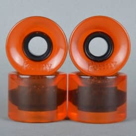 Penny Cruiser 79A Orange Transparent Skateboard Wheels 59mm