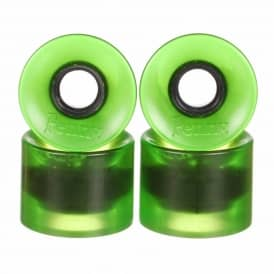 Penny Skateboards Penny Cruiser 79A Skateboard Wheels Green Transparent 59mm