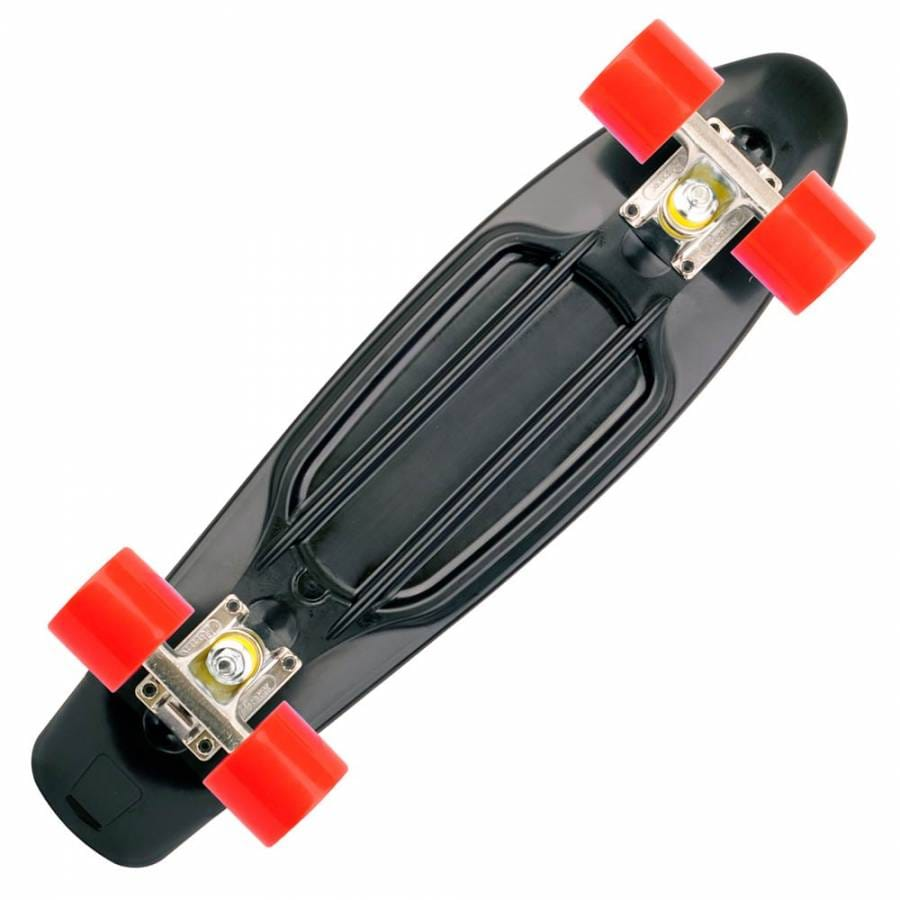 penny skateboards penny skateboard cruiser black red. Black Bedroom Furniture Sets. Home Design Ideas