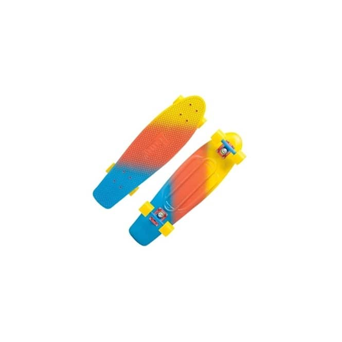 Penny Skateboards Candy Fade Yellow/Red/Blue Nickel Complete Skateboard 27''