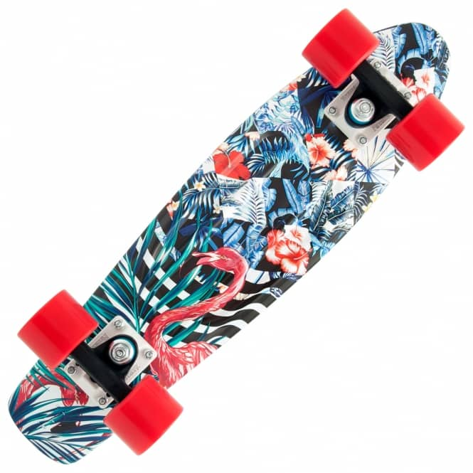 Penny Skateboards Flamingo Forest Penny Cruiser Skateboard 22