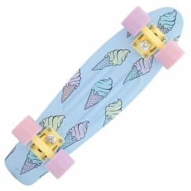 Penny Skateboards Ice Scream Glow In The Dark Penny Cruiser Skateboard 22""