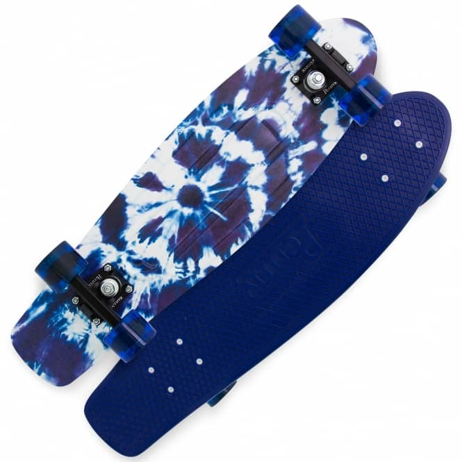 Penny Skateboards Indigo Tie Dye Penny Nickel Cruiser Skateboard 27