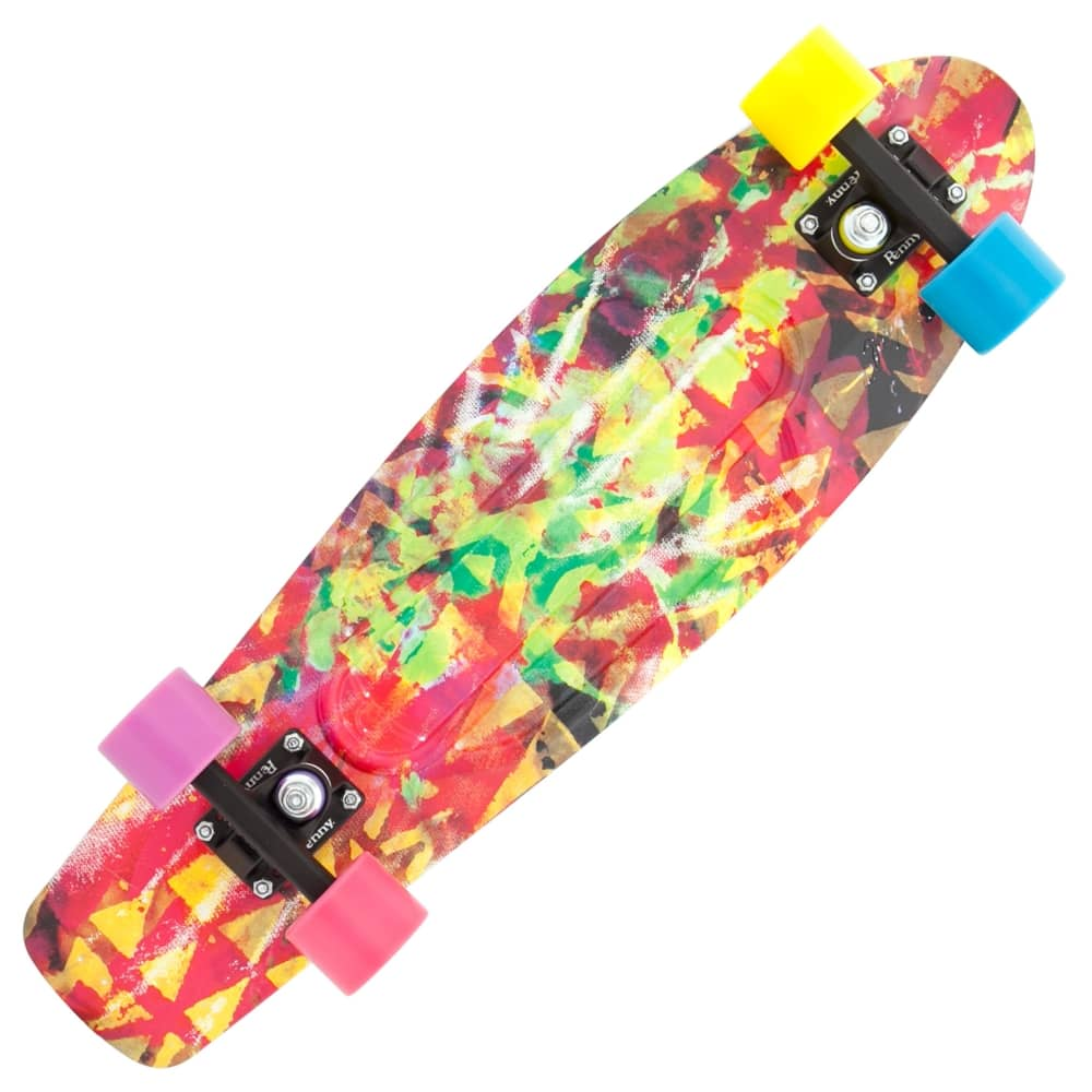 penny skateboards kaleidoscope penny nickel skateboard 27