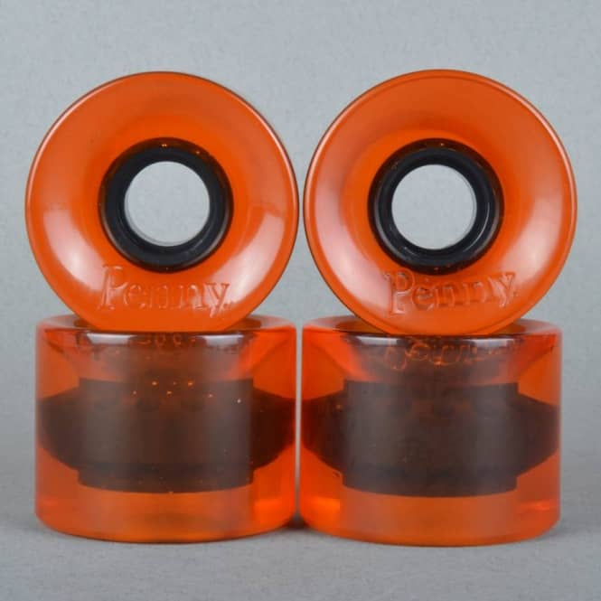 Penny Skateboards Penny Cruiser 79A Orange Transparent Skateboard Wheels 59mm