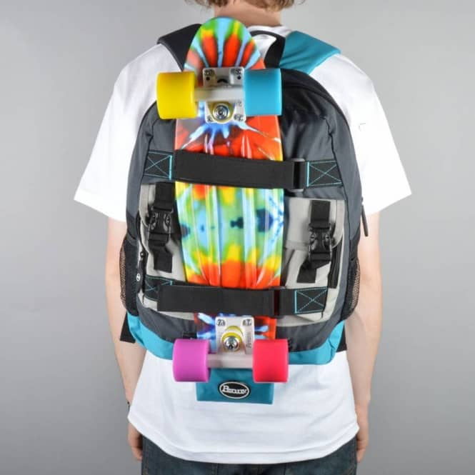 bdb77c5f714d Penny Skateboards Pouch Backpack - Black Blue Grey - ACCESSORIES ...