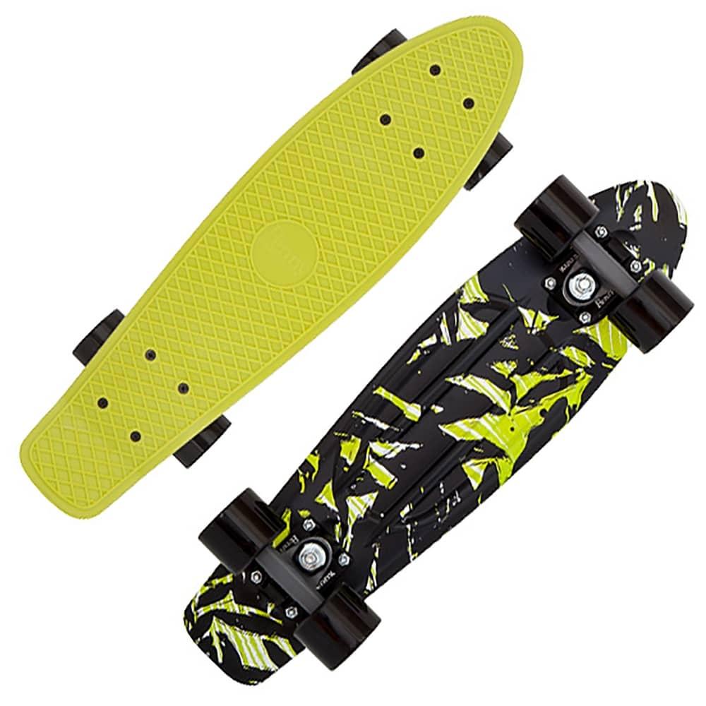 Goede Penny Skateboards Shadow Jungle Penny Cruiser Skateboard 22 BM-85